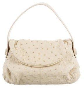 Giorgio Armani Ostrich Mini Handle Bag