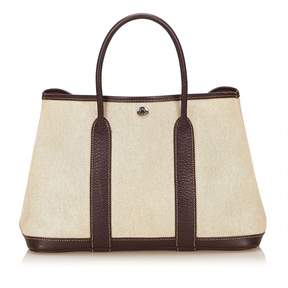 Hermes Garden Party tote - WHITE - STYLE