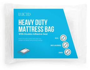 Asstd National Brand Lucid Heavy Duty 3 Mil Mattress Bag