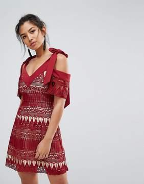 Keepsake Walk On By Lace Dress