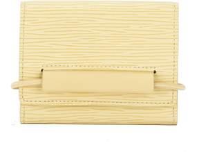 Louis Vuitton Vanilla Epi Porte-Monnaie Elastique Coin Purse (Pre Owned) - VANILLA - STYLE