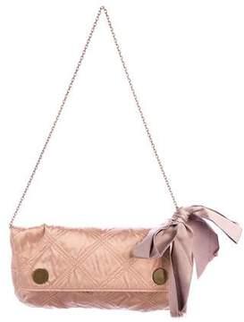 Lanvin Quilted Satin Flap Bag