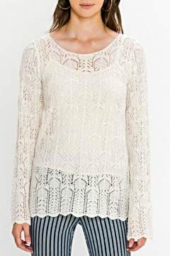 Flying Tomato Crochet Bellsleeve Sweater