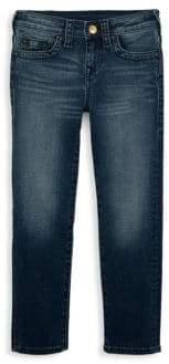 True Religion Toddler's, Little Boy's& Boy's Geno Single End Fade Jeans
