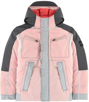 Stone Island Parka with down and feather padding