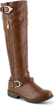 Journee Collection Women's Barb Wide Calf Riding Boot