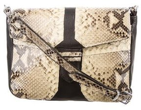 Carlos Falchi Python Crossbody Bag
