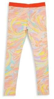 Stella McCartney Toddler's, Little Girl's& Big Girl's Tula Marble-Print Leggings