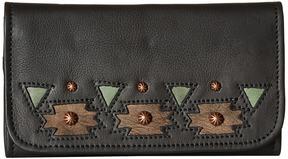 American West Chenoa Trifold Wallet Wallet Handbags