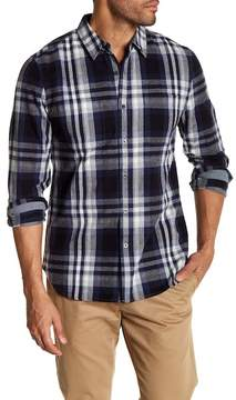 AG Jeans Standard Fit Button Down Flannel Shirt
