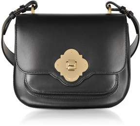 Emporio Armani Black Flap Top Shoulder Bag