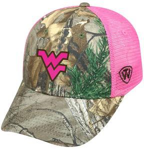 Top of the World Adult West Virginia Mountaineers Sneak Realtree Snapback Cap