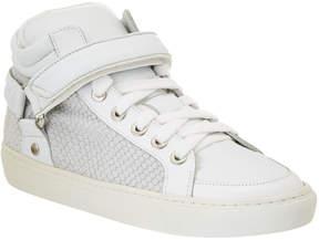 Maje Gabriel Leather Sneaker