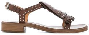 Church's fringe flap sandals