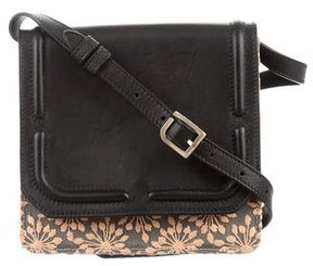 Dannijo Embroidered Leather Crossbody Bag