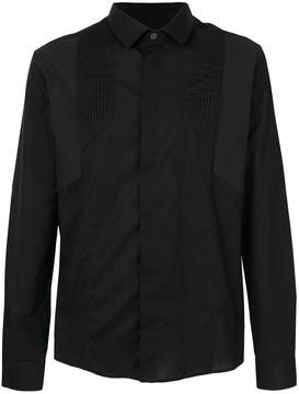 Les Hommes shirt with pleated detail