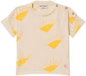 Bobo Choses Buttercream Sun Short Sleeve T-Shirt