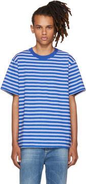 Noon Goons Blue Surfer Stripe T-Shirt