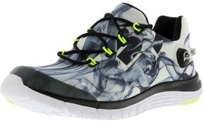 Reebok Women's Z Pump Fusion Flame White / Black Yellow Silver Fabric Running Shoe - 9.5M