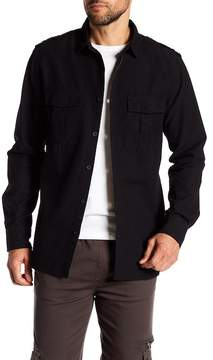 Sovereign Code Virgil Spread Collar Regular Fit Shirt