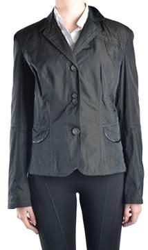 Geospirit Women's Black Polyester Blazer.