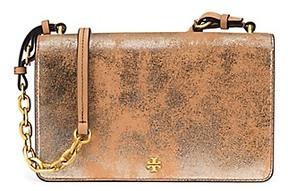 Tory Burch Sadie Metallic Shoulder Bag - TIRAMISU - STYLE
