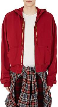 Haider Ackermann Men's Embroidered Cotton French Terry Hoodie