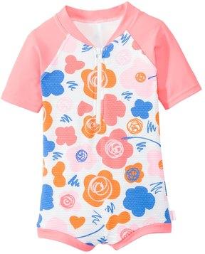 Seafolly Girls' Vintage Pop Rashguard Suit (6mos6yrs) - 8133199