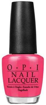 OPI Nail Lacquer Nail Polish, Charged Up Cherry.