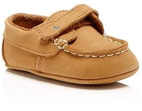 Ralph Lauren Childrenswear Boys' Captain EZ Tan Deck Shoes - Baby