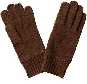Portolano Men's Cashmere Glove With Slit At Thumb