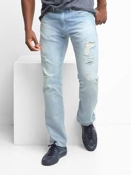Gap Lightweight destructed slim fit jeans (stretch)