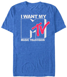 Fifth Sun Royal Heather 'I Want My Music Television' Tee - Men