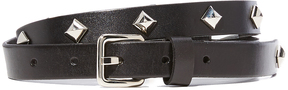 Rebecca Minkoff Dog Clip Studded Belt