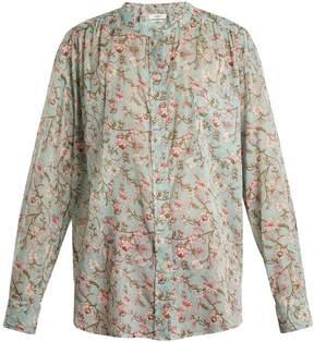 Etoile Isabel Marant Mexika floral-print cotton shirt