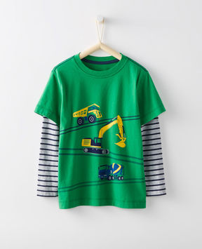 Hanna Andersson Double Dare Tee In Supersoft Jersey