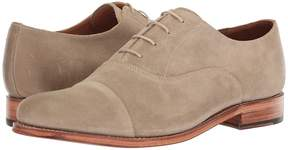 Grenson Benjamin Cap Toe Suede Oxford Men's Shoes