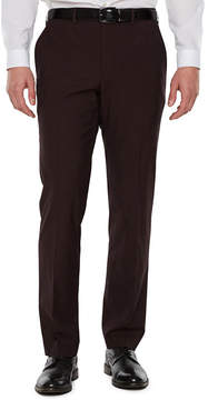 Jf J.Ferrar Merlot Stretch Pulse Suit Pant Stretch Slim Fit Suit Pants