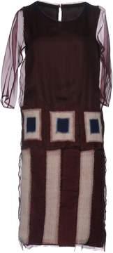 Maurizio Pecoraro Knee-length dresses