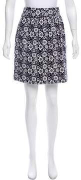 Brooks Brothers Printed Casual Skirt