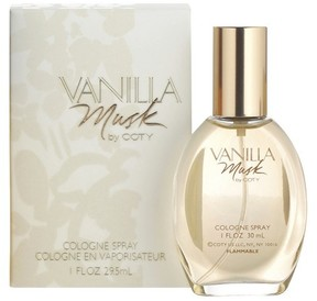 Vanilla Musk by Coty Eau de Cologne Women's Spray Perfume - 1 fl oz