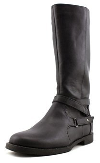 Kenneth Cole Reaction Kennedy Basic Youth Us 12 Black Knee High Boot.