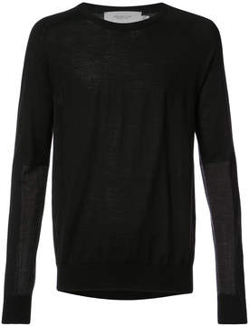 Pringle elbow patch jumper