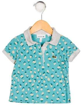 Lacoste Boys' Printed Polo Shirt