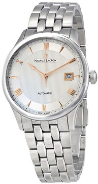 Maurice Lacroix Masterpice Date Silver Dial Men's Watch