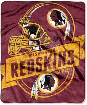 Northwest Company Washington Redskins Micro Raschel 12th Man Throw Blanket