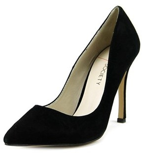 Sole Society Aiken Pointed Toe Suede Heels.