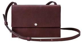 Shinola Leather Crossbody Bag - Red