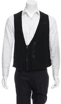 Damir Doma Utility Zip Front Vest w/ Tags