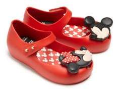 Mini Melissa Baby's & Little Girl's Ultragirl Disney Twins Mary Jane Flats